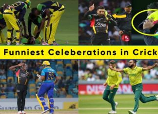 10 Famous & Funny Celebrations in Cricket