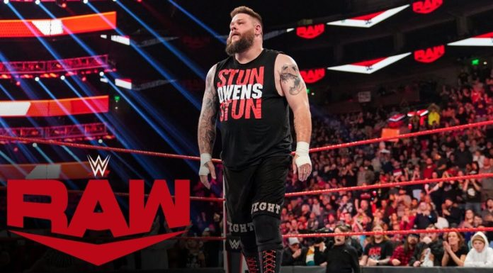 Kevin Owens receives a standing ovation