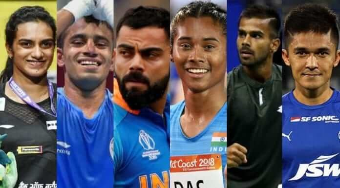 Best 5 Sports person in India